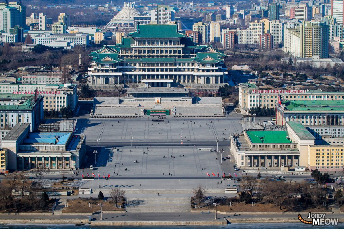 Grand People's Study Palace in Pyongyang