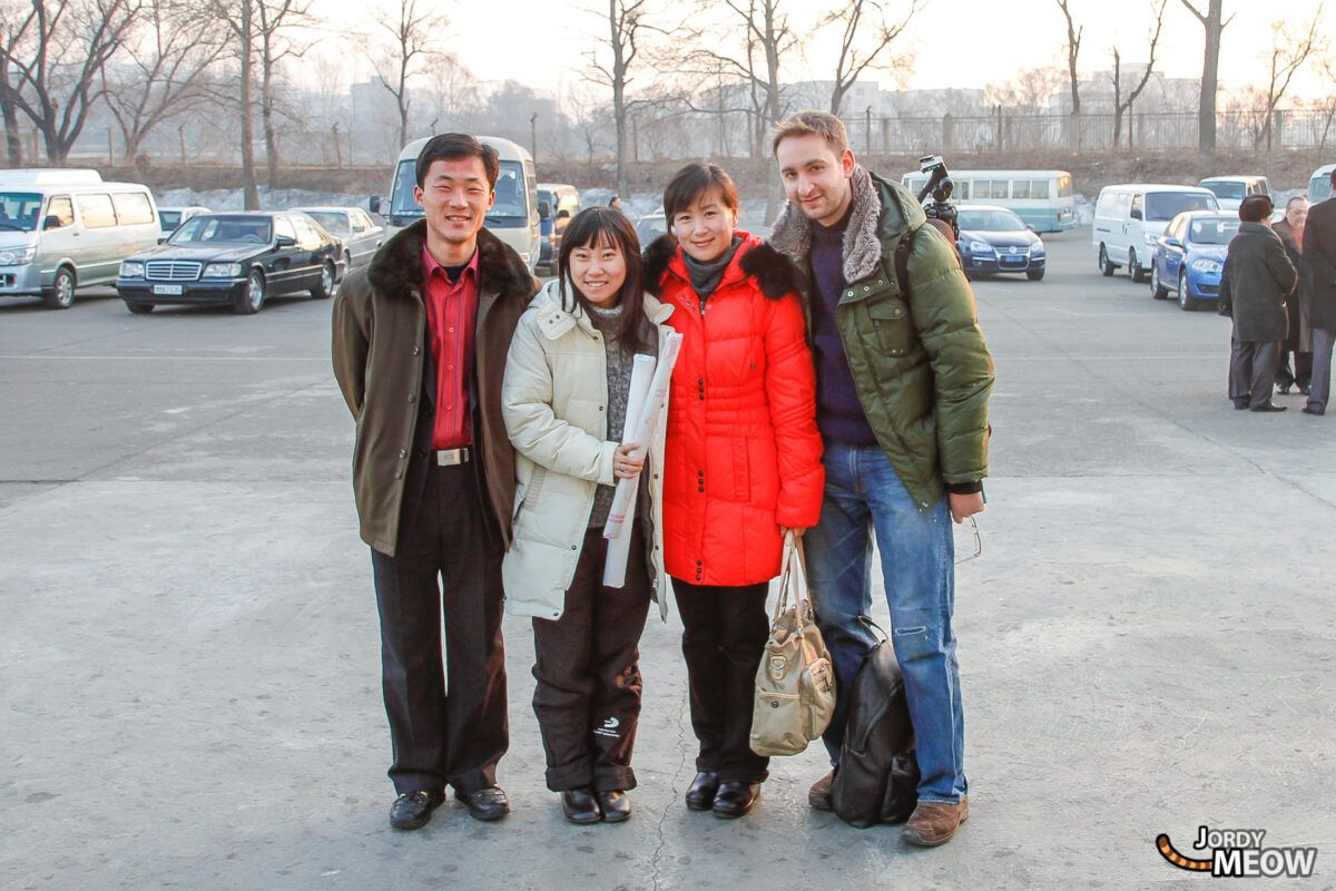 Tour Guides in Pyongyang