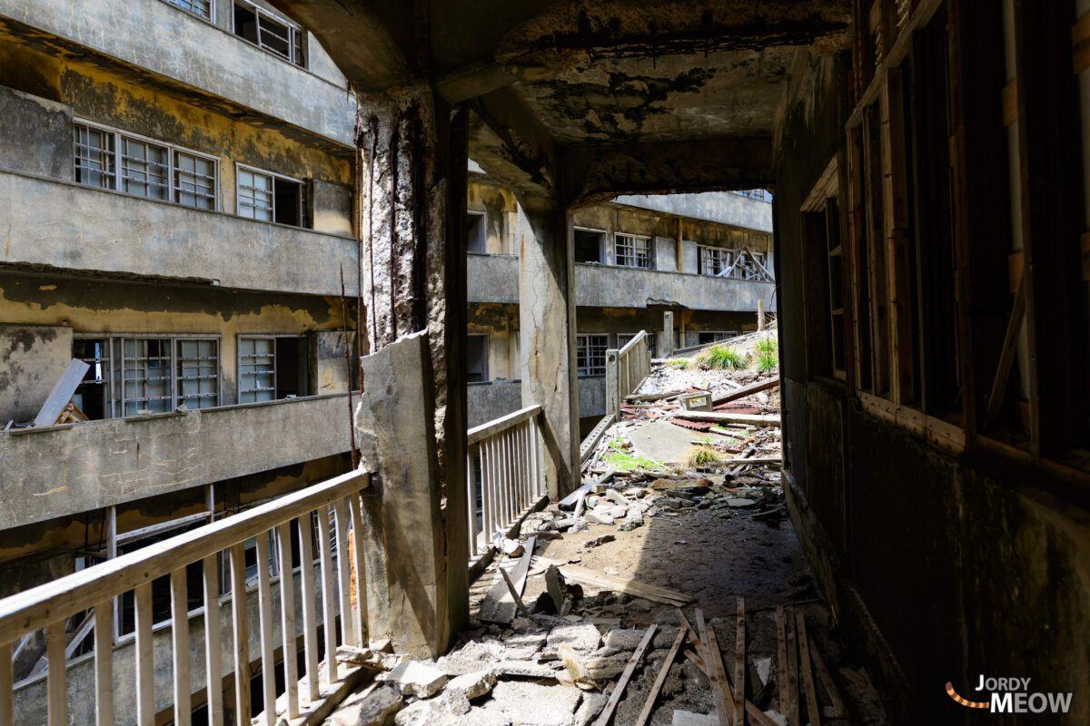 Balconies of Gunkanjima