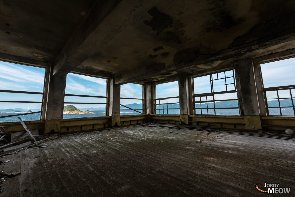 Camping Room at the Gunkanjima School