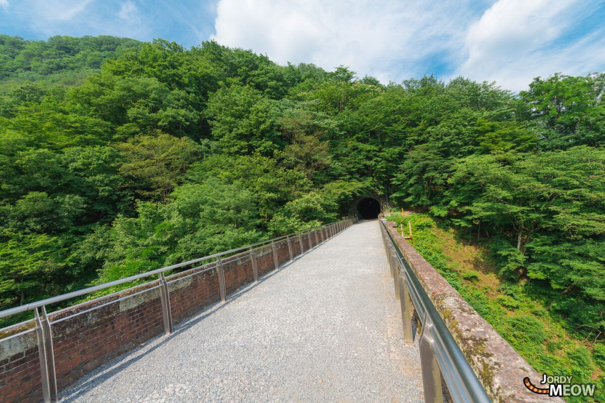 Walking on the Usui Pass