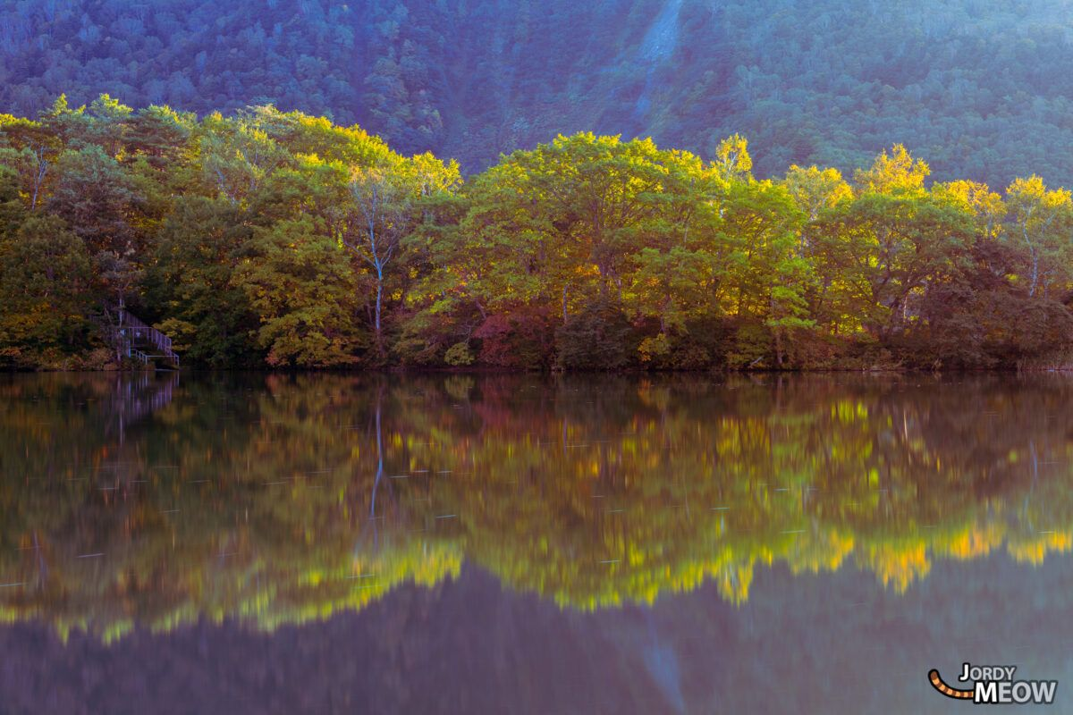 Maruike Pond Sunset