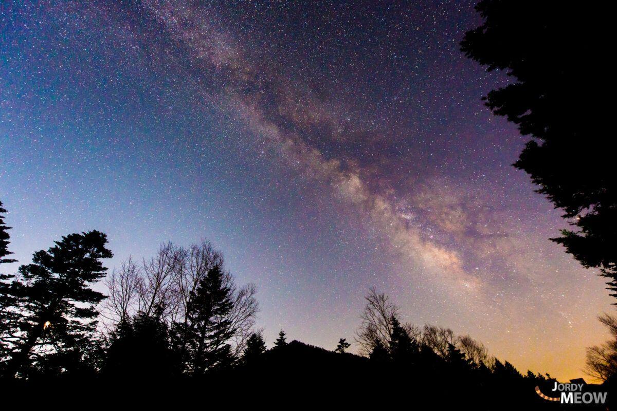 The Milky Way in Gunma.