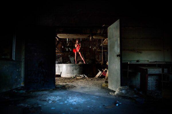 abandoned,strip-club,japan