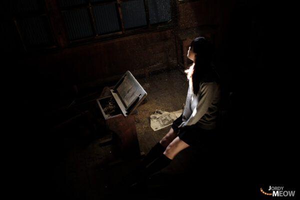 abandoned,school,japanese,girl,student