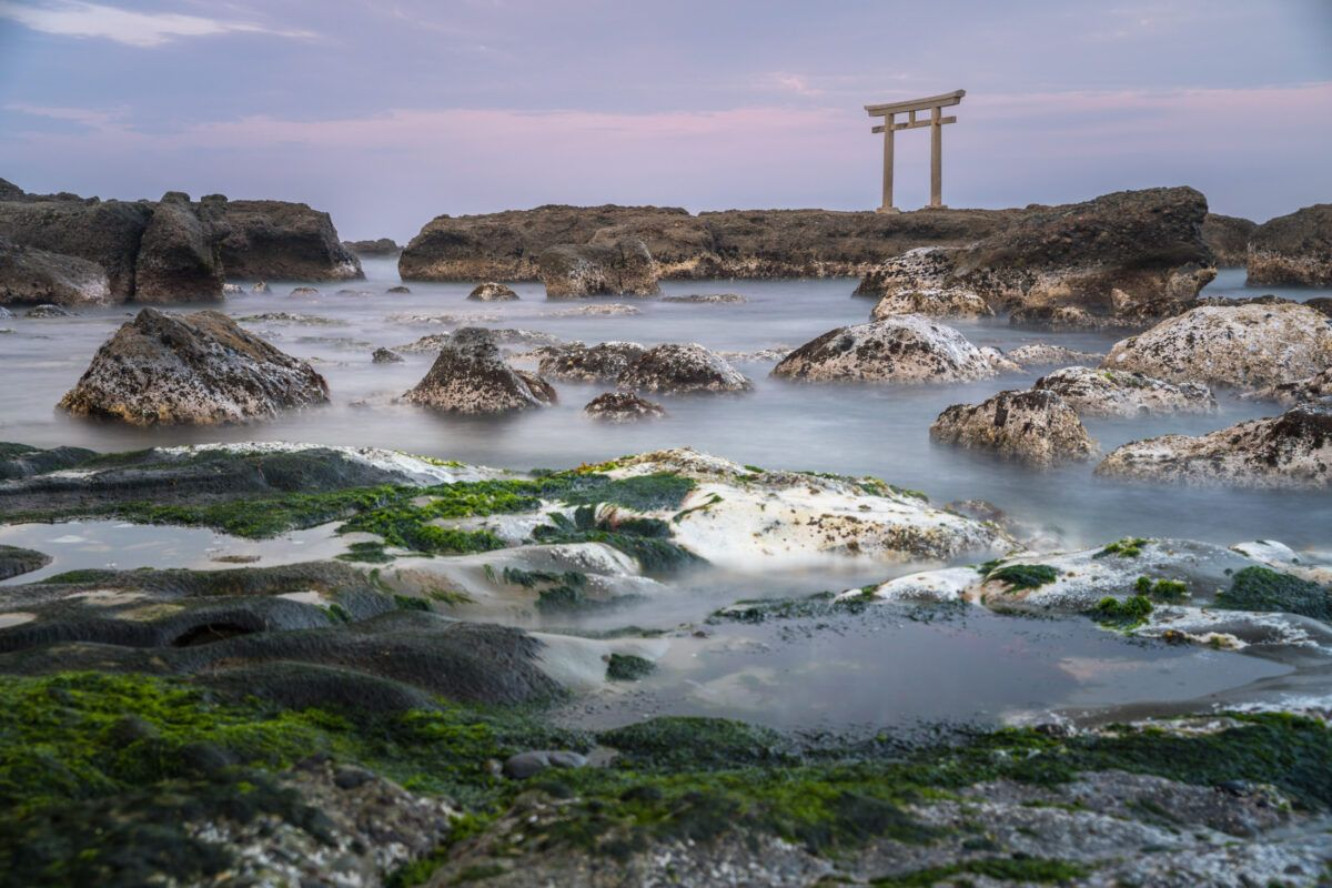 atmosphere, ibaraki, japan, japanese, kanto, natural, nature, ocean, religion, religious, sea, shinto, special, spiritual, sunset, thing, tori